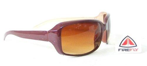 Sonnenbrille Firefly rot braun Brille 100% UV Sport Freizeit Snowboard Ski Inliner