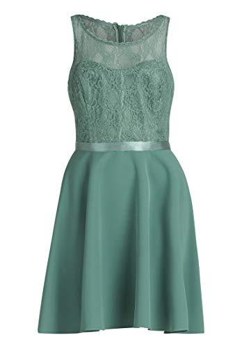 Vera Mont Damen 0100/4938 Kleid, Grün (Mint Leaf Green 5331), (Herstellergröße: 38)