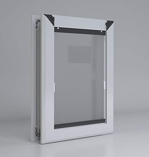 Aluminum Dog Door (Double Flap, Medium)