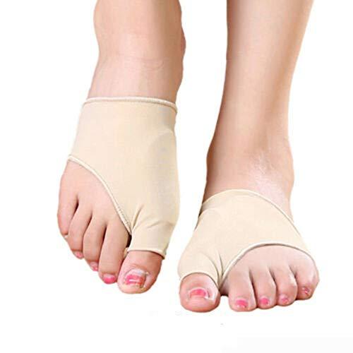 Hallux Valgus Schutz Bandage Zehenschutz Korrektur Gelkissen Fußbandage