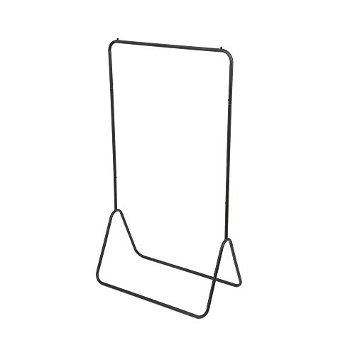 Compactor Portant pour Vêtements Fyn, Acier Laqué Mat, Noir, Dim : 80 x 41 x H.147 cm, RAN7656