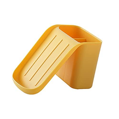 ZAIZAI Pasta de jabón de Drenaje portátil reutilizado Multifuncional de jabón de jabón para Soporte de jabón de Estuche de vacío montado (Color : A)