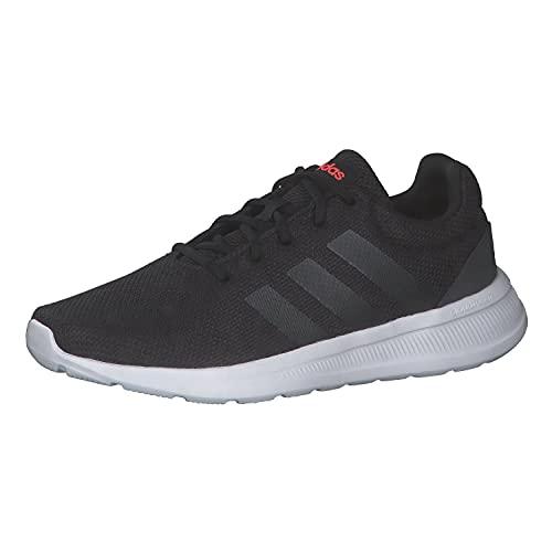 adidas Herren Lite Racer CLN 2.0 Road Running Shoe, Core Black/Carbon/Solar Red, 46 EU