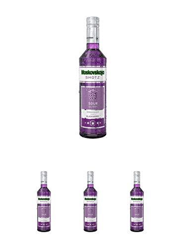 Moskovskaya SHOTZ Sour Berry 0,5 Liter + Moskovskaya SHOTZ Sour Berry 0,5 Liter + Moskovskaya SHOTZ Sour Berry 0,5 Liter + Moskovskaya SHOTZ Sour Berry 0,5 Liter