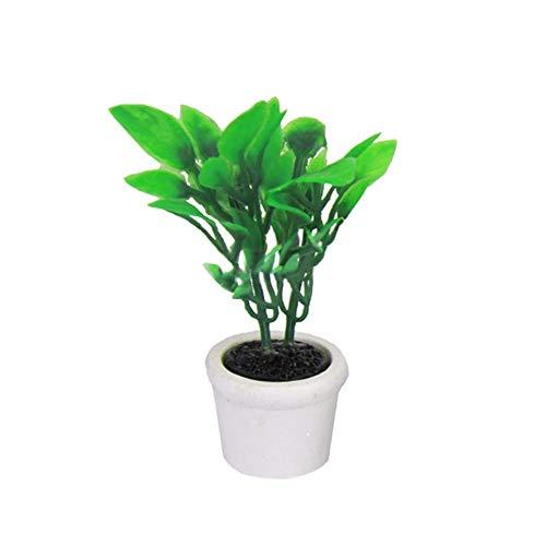 Laputa Mode 1/12 Plante Artificielle Maison De Poupée Miniature Décoration Accessoire De Jardin Excellente Exécution Jouet Cadeaux d'anniversaire 1#