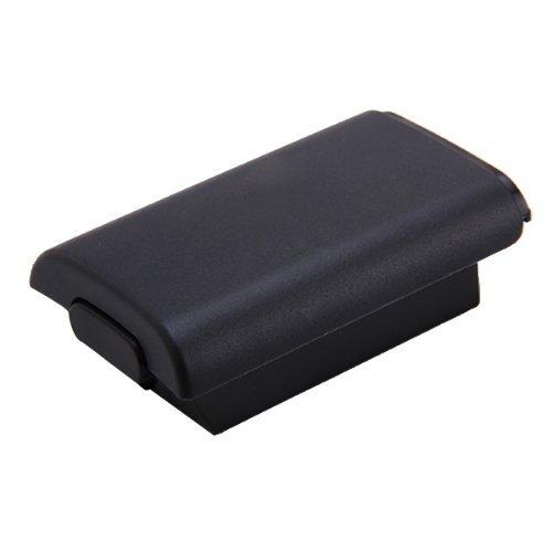 Couvercle Cache Etui Coque housse de Batterie NOIR Pour Microsoft Xbox 360 Manette