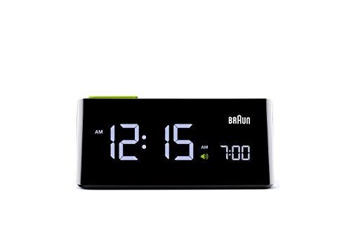 【正規輸入品】 BRAUN(ブラウン) 目覚まし時計 BNC016BK