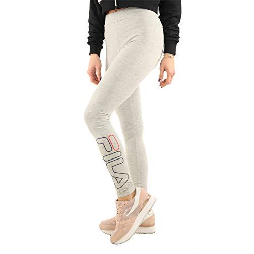 Fila Donna Leggins con Logo Grigio Mod. 687124