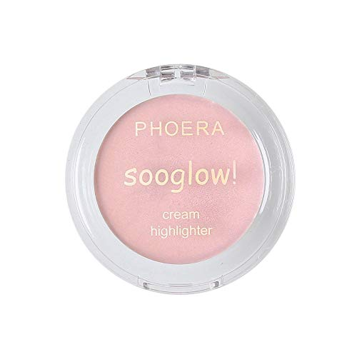 Auifor Highlighter Make-up-schimmer-crème gezicht highlight oogschaduw glow brons