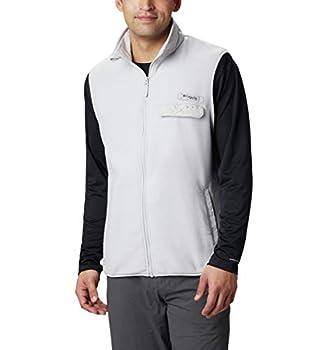 Columbia Men s Harborside II Fleece Vest Cool Grey Heather Small