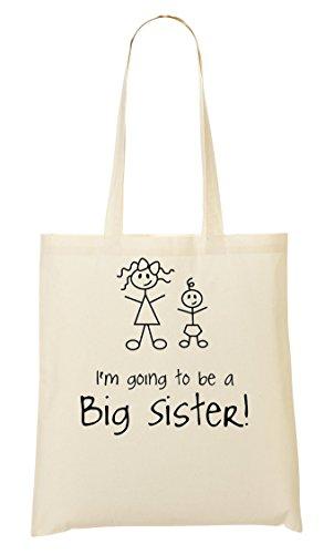 I'M Going To Be A Sister! Bolso De Mano Bolsa De La Compra