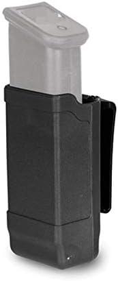 XFC-DANJIA, Pistola táctica Individual Bolsa de la Revista Clip Universal for Glock 9mm M9 P226 HK USP Cinturón de Caza de Airsoft Accesorios (Color : Black Color)
