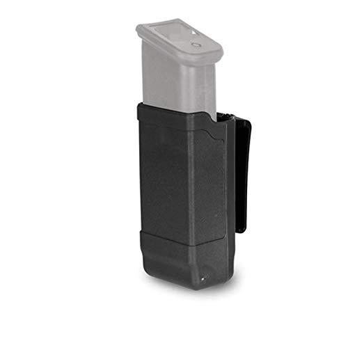 XBF-Clips, Pistola táctica Individual Bolsa de la Revista Clip Universal for Glock 9mm M9 P226 HK USP Cinturón de Caza de Airsoft Accesorios (Color : Black Color)