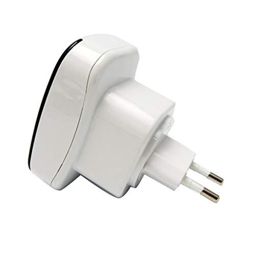 Sylvialuca Router WiFi Repetidor de Doble Banda Amplificador de señal WiFi de Alta Potencia Red inalámbrica Amplificador de señal WiFi
