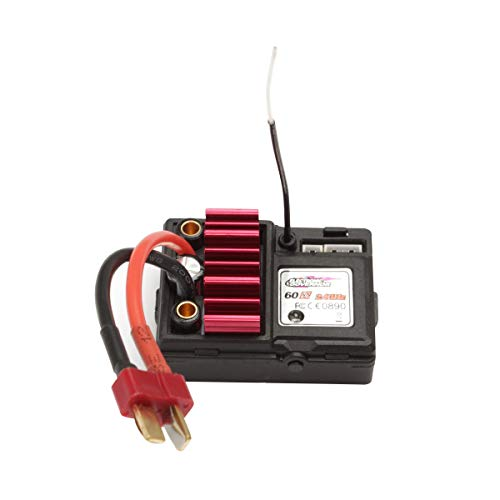 HOSIM RC Car Electronic Speed Controller Assembly Accessory Spare Parts 55-ZJ06 for Hosim 9155 9156 RC Car