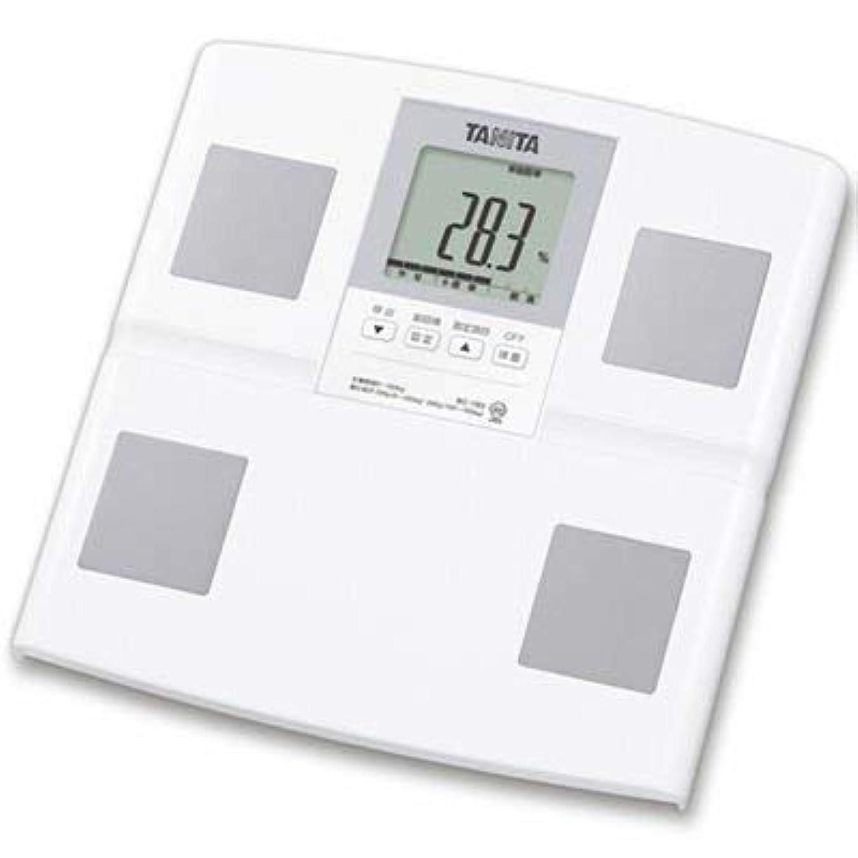 レバー秋ウサギタニタ 体組成計 日本製 BC-765-WH(ホワイト) 体重 体脂肪率 筋肉量 内臓脂肪レベル 基礎代謝量 乗るピタ機能付きで簡単測定