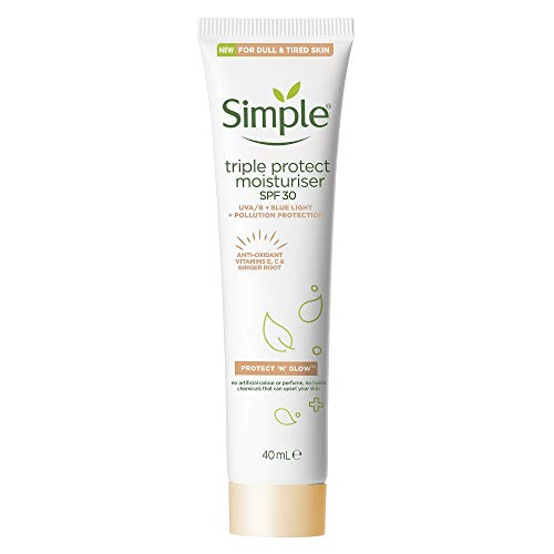 Simple Protect 'N' Glow SPF 30 For Glowing Skin Triple Protection...