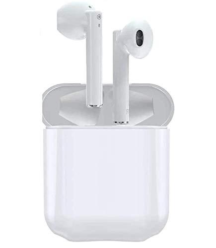Auriculares Inalámbricos Bluetooth 5.0, Auriculares Bluetooth Deportivos IPX5 Impermeable, In-Ear Cascos Bluetooth Inalámbricos con Microfono Dual y Caja de Carga para iphobe/Airpods/Huawei/Xiaomi