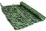 Verdevip Siepe Artificiale Finta da Esterno - Rotolo 01x03 mt (3mq) - per Balconi Recinzioni Ringhiere Giardini