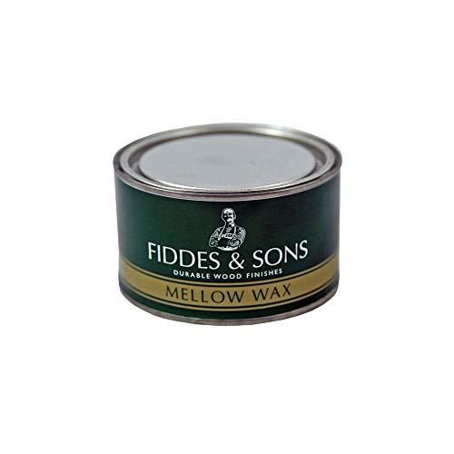 Fiddes Mellow Wax Furniture Polish 400ml - Dark Brown (English Oak) by Fiddes & Sons