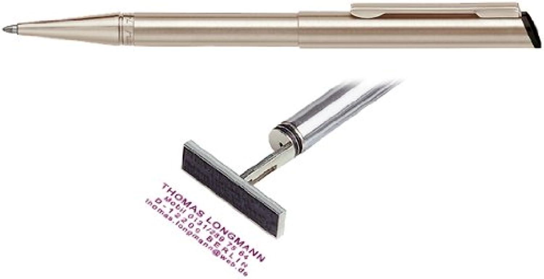 Stempelkugelschreiber Heri Diagonal champagner B008KXOZP0 B008KXOZP0 B008KXOZP0  | Gute Qualität  c74a27