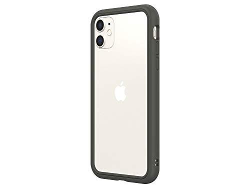 RhinoShield iPhone 11/XR CrashGuard NXバンパーケース - 3.5mの落下衝撃からも保護 背面のないスタイリッシュデザイン - グラファイト