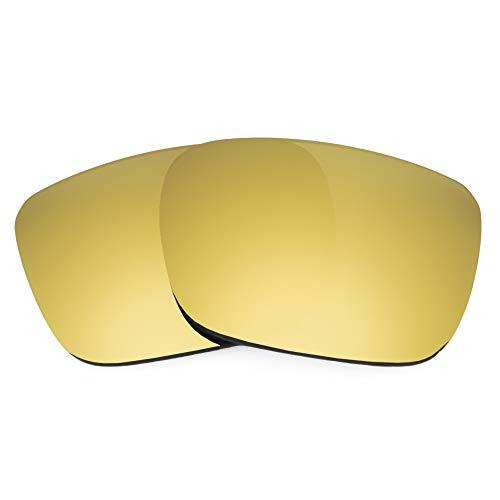 Revant Ersatzgläser Kompatibel mit Spy Optic Helm, Polarisiert, Elite Gold MirrorShield