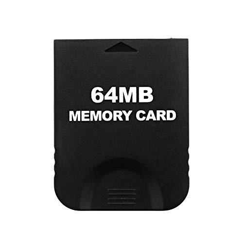 OTOTEC Repuesto de Tarjeta de Memoria para Wii de 64 MB Compatible con Todos los Modelos de Gamecube+Wii