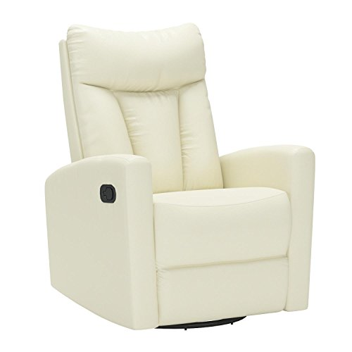 Monarch Specialties (white) Recliner chair, 30