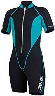 SEAC Women's Shorty Sealight Wetsuit X-Large [並行輸入品]
