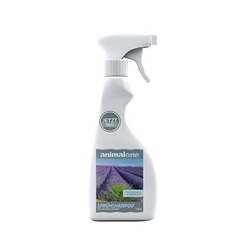 animalone - SPRÜHSHAMPOO 750 ml - für Pferde - Reinigung & Pflege von Fell, Mähne & Schweif - pH-neutral - mit hochwertigem französischen Lavendel-Öl