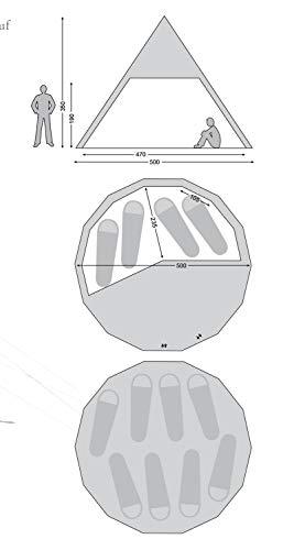 NORDISK(ノルディスク)アウトドアテントアルヘイム19.6ホワイト8~10人用【日本正規品】242014