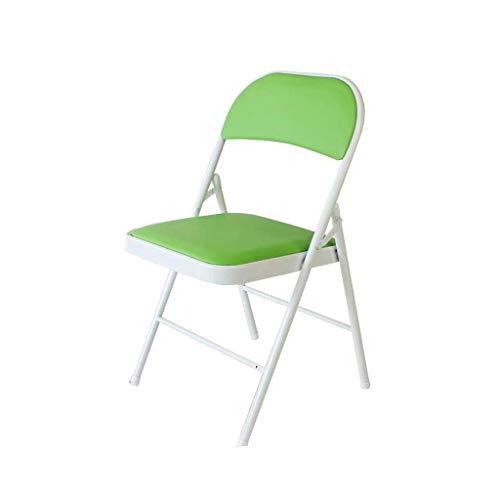 JIEER-C stoel voor de tijd Libero, inklapbare stoel voor pauze, Pranzo, bureaustoel, managersstoel, 9 kleuren, robuust Lichtgroen