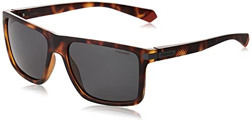 Polaroid PLD 2098/s Sunglasses, AB8/M9 Havana Grey, 56 Mens