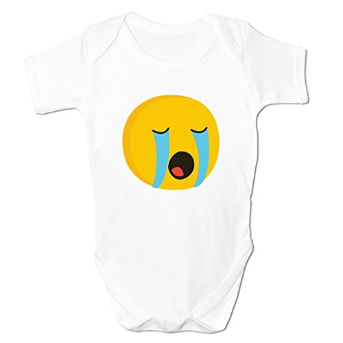 Bang Tidy Clothing Crying Face Cry Baby Emoticon Icon Symbol Cartoon Cute Kids Baby Grow