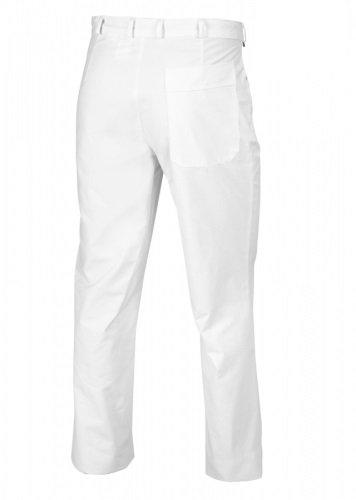 BP 1491-130 Herren Hosein aus reiner Baumwolle weiß, Größe 52