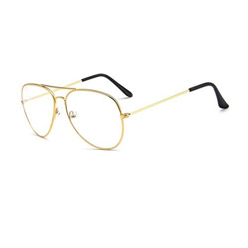 Unisex Retro Runde Brille Metall Frame Light Gewicht Klassische Brillenfassung