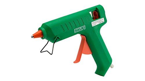 salki 8500760 Pistola Encoladora de Silicona Caliente Ideal para Bricolaje, 80 W, 240 V