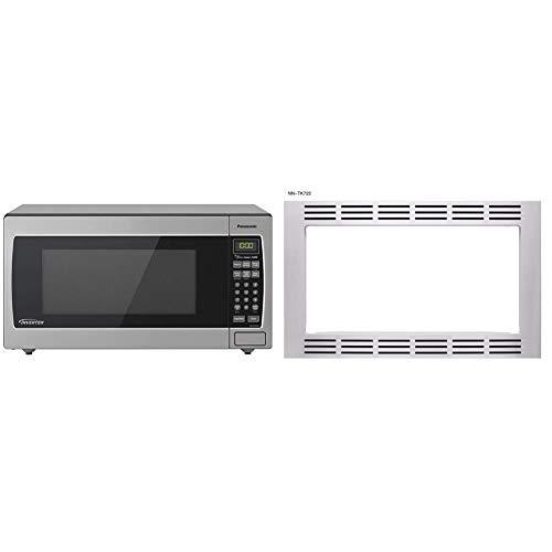 "Panasonic Microwave Oven NN-SN766S, 1.6 Cubic Foot, 1250W & 27"" Microwave..."