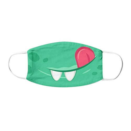 Kindergesichtsschutz für Aktivitäten im Freien in Innenräumen, Wiederverwendbarer Baumwollstoff Fashion Waschbar Schutz für Kinder Kids Cute Cartoon 1pc