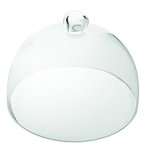 Vidivi Vetri delle Venezie 67271 - Campana de Cristal (23 cm de diámetro), Transparente