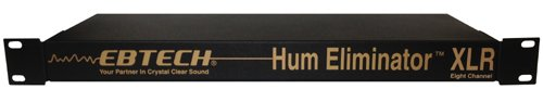 EBTECH HE-8-XLR Hum Eliminator HE 8 XLR