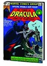 The Tomb of Dracula: Lord of Vampires (OMNIBUS VOL 02 HC DM VARIANT, Special Double-Size Issue, Tomb of Dracula Nos 32-70, Giant Size Dracula No. 5 & Dr. Strange No. 14)