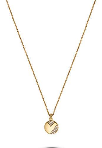 JETTE Silver Damen-Kette 925er Silber 43 Zirkonia One Size Gold 32010636
