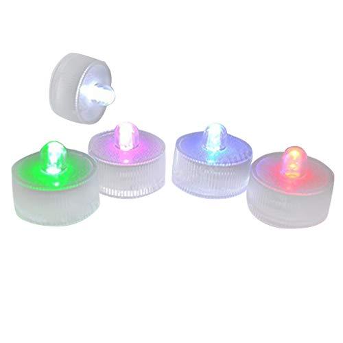 Pool Licht,Fulltime E-Gadget Neues Design 5 Stück Multi Farbwechsel Led Licht für Schwimmbad Aquarium
