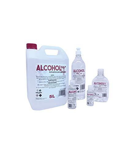 Grupo K-2 Wonduu Alcohol 96º Higienizante Multiusos | 50 ml.