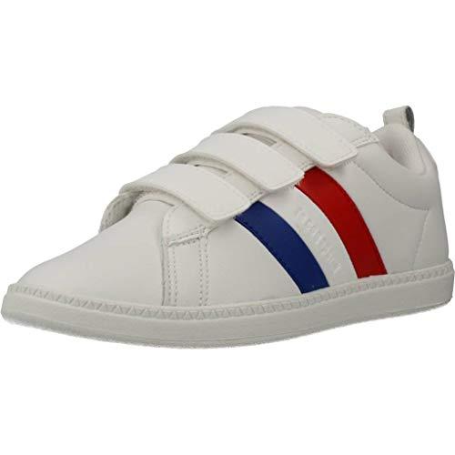 Le Coq Sportif Unisex-Kinder Courtclassic Ps Sneaker, Optisch Weiß, 28 EU