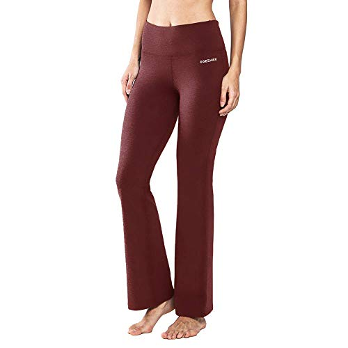 Ogeenier Pantalones de Yoga de Mujer Pantalón de Pilates de Cintura Alta...