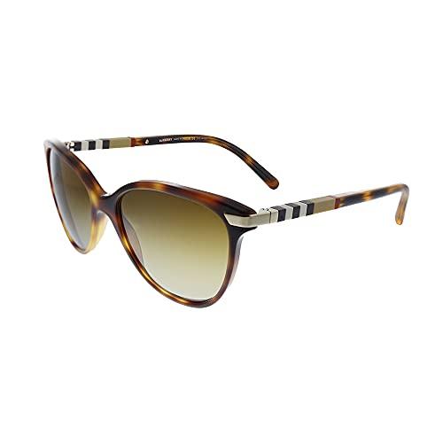 Burberry BE 4216 3316T5 - Gafas de sol (plástico), diseño de ojo de gato, color marrón