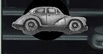 Morris Minor - Kit de 2 puertas Saloon ref160 con efecto peltre para ambientador de ventilación para coche, furgoneta, camión, mini autobús